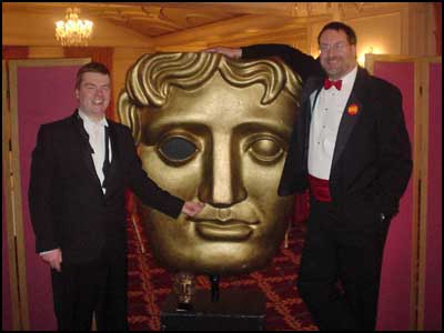 Sean and Steve demonstrate that, while you can't pick your relatives, you can pick your BAFTA.